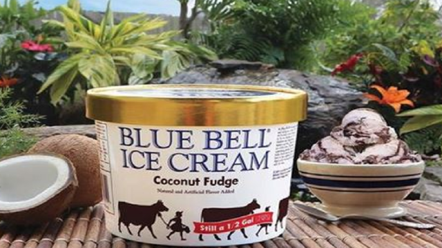 Blue Bell Unveils Coconut Fudge