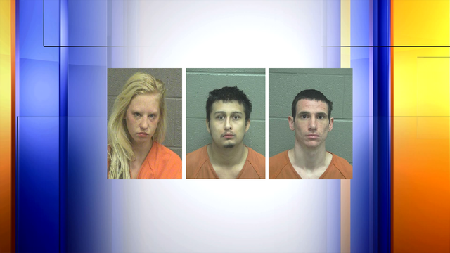 Three arrested in aggravated robbery case