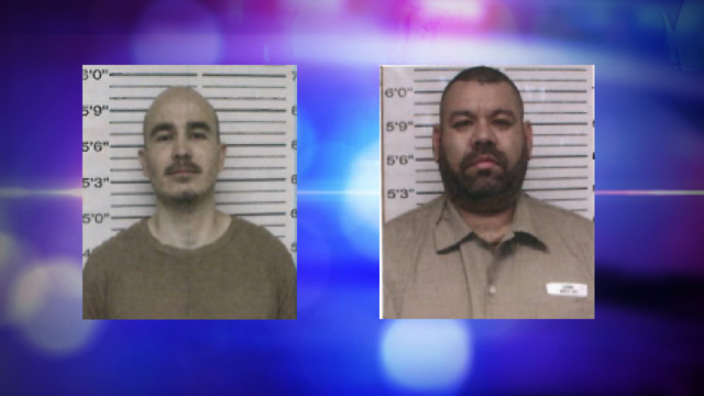 Authorities Searching for Two Escapees