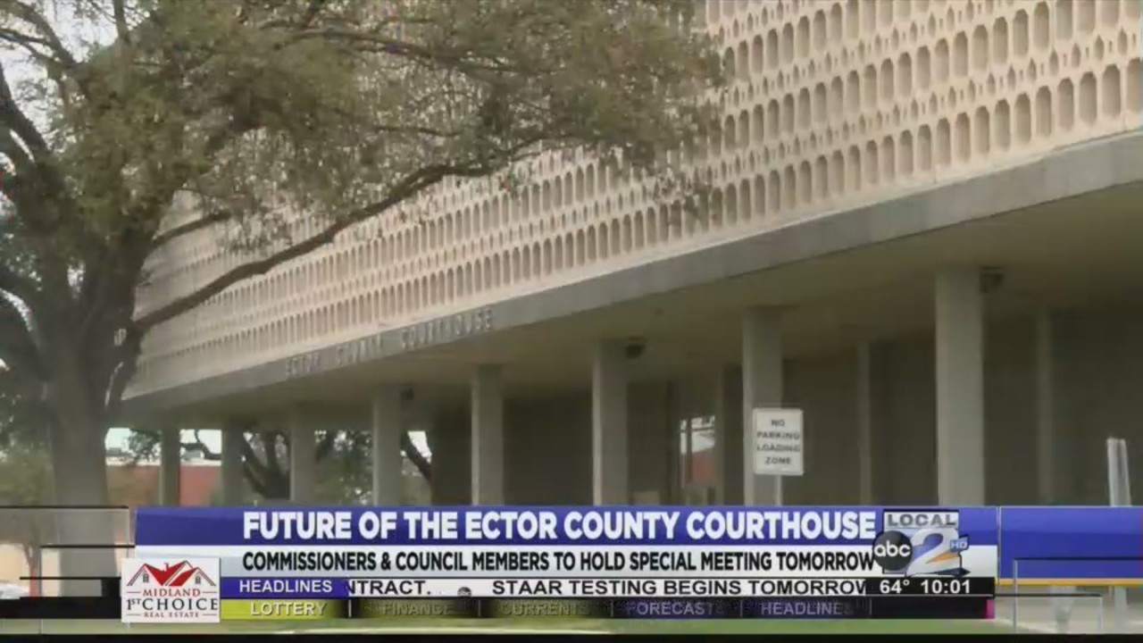The Future of the Ector County Courthouse