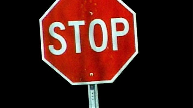 City Installs All-Way Stop at University and Maple