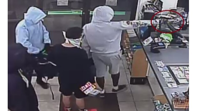 OPD searching for armed robbery suspects