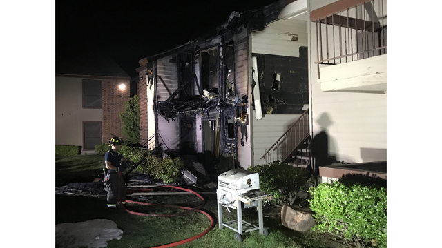 Two Homes Lost in Early Morning Apartment Fire