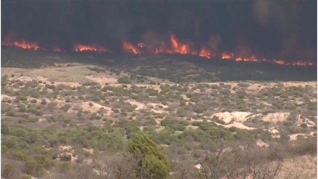 National help required in fighting blazing wildfire