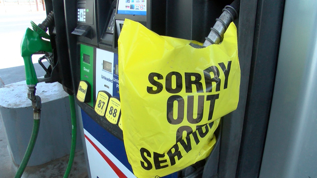 Rising gas prices and minor gas shortages