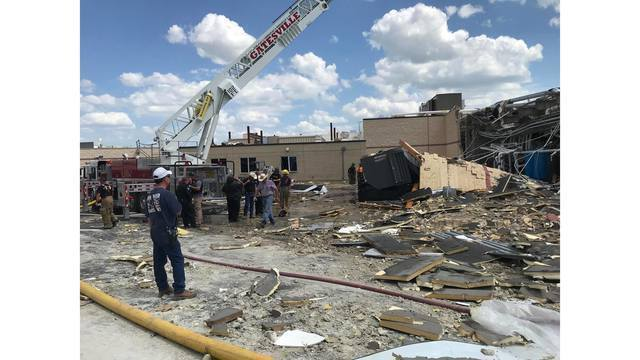 Probe begins into hospital explosion