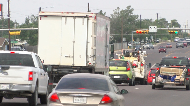 OPD and DPS crack down on illegal commercial truck routes