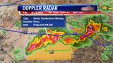 Severe Thunderstorm Warning Near Ft. Stockton - 5-24-2019