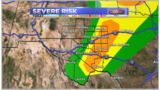 Enhanced Risk of Severe Weather Today and Tonight - 6/18/19